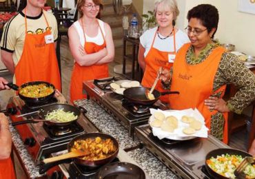 Cooking Class in Jaipur in Rajasthan in India