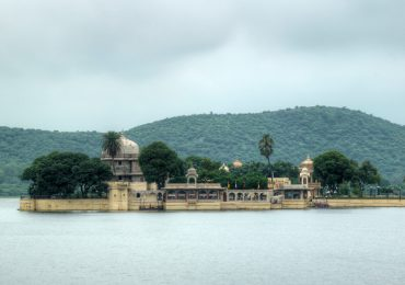 Jag Mandir is one of the two islands in Lake Pichola in Udaipur in Rajasthan in India