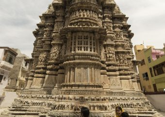 Jagdish Temple is a Hindu temple near City Palace in Udaipur in India