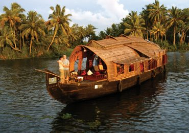Luxury House boat in backwaters - Kerala - South India