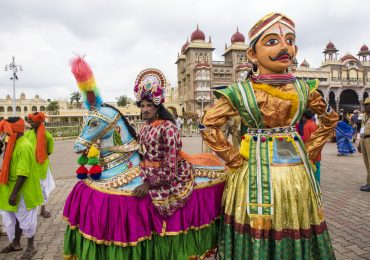 Dussehra Festival in Mysore in Karnataka is the biggest event of the city - South - India