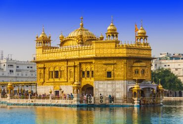 Golden Temple in Amritsar is the epicenter of Sikhism in India and World - Punjab - North - India