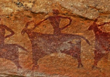 Paintings in rock shelters of Bhimbetka are 30 thousand years old - Bhopal - Madhya Pradesh - India