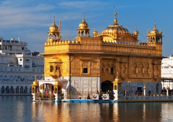 Sri Harminder Sahib also known as Golden Temple in Punjab in Inda is the biggest pilgrimage for Sikhs - India